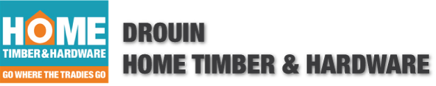 Drouin Home Timber & Hardware Logo